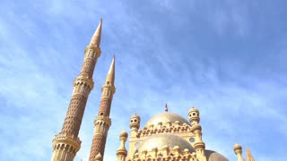 View on a Mosque in the City Egypt