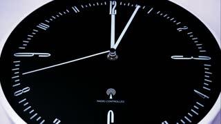 Modern clock time lapse 4 K