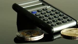 Bitcoins and calculator