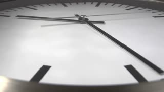 White clock time lapse