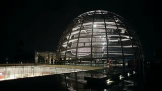 The dome of the Reichstag Berlin Germany