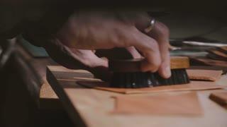 Custodian Waxing And Polishing Floors Stock Video Footage Storyblocks Video