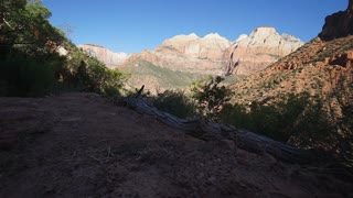 Dolly Shot in Zion National Park