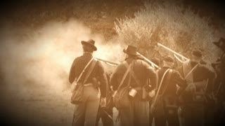 Gunfire of the battlefield (Archive Footage Version)