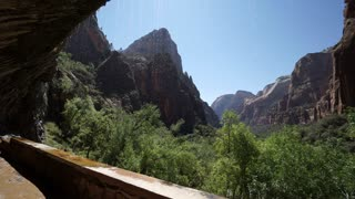 Pan of Zion National Park