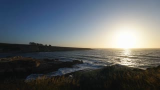 Rapid timelapse at sunset near Spooner's Cove