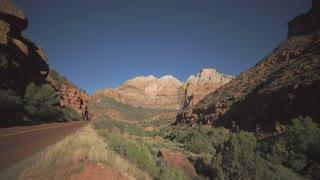 Roadside Pan in Zion National Park