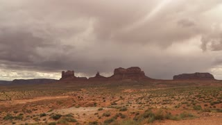 Timelapse of Storm in Monument National Park