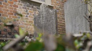 17th Century Grave Stone