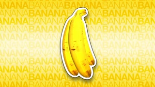 3D Bananas Rotating Background