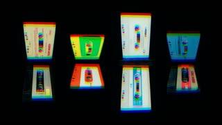 3D Cassettes Rolling