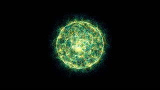 3D energy ball motion background