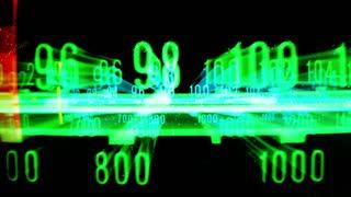 3D Glitch Radio Dial