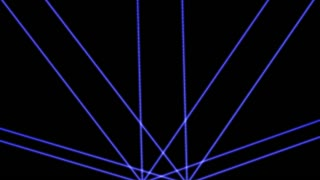 4K Laser Lights Creative Dance Party Background 3