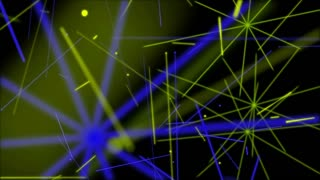 4K Laser Lights Creative Dance Party Background 6