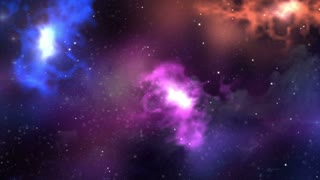 4K (Ultra Hd) Abstract Nebula Space - Creative Galaxy Background