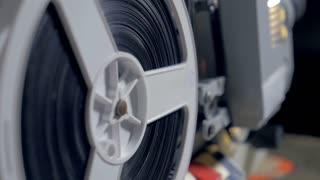 4K vintage film projector