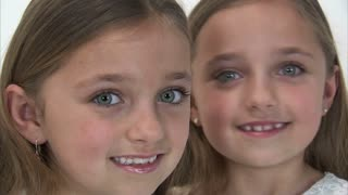 8 Year Old Twins Whisper to Each Other
