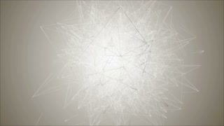 A dense network of lines, blurred lens. Opening Intro title animation. Geometry surfaces. Ultra High Definition 4K video.