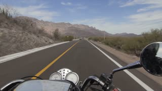 A motorcycle adventure on the road