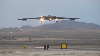 A U.S. Air Force B-2 Spirit stealth bomber