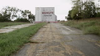 Abandoned Drive In Moonlite Theatre wide