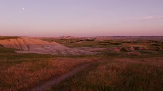 Sunset in the Badlands South Dakota