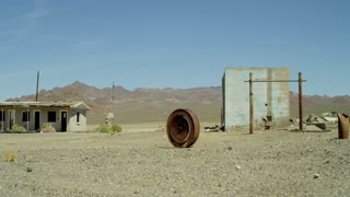 Abandoned Desert Buildings