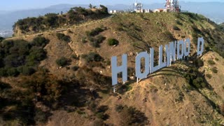 Above Hollywood Sign