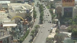 Above Las Vegas Daytime Timelapse