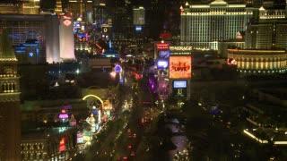 Above Vegas Street Timelapse