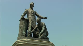 Abraham Lincoln Emancipation Statue
