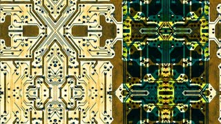 Graphic integrated circuit boards (Loop)