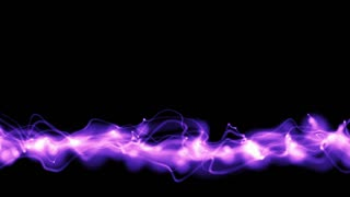 Waves of purple light undulate across a black screen (Loop)