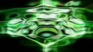 Abstract fluid light patterns pulse, ripple and flow (Loop)