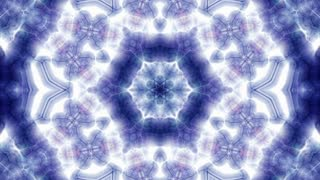 Kaleidoscopic video background (Loop)