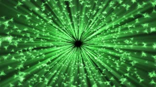 A green light bursts on screen (Loop)
