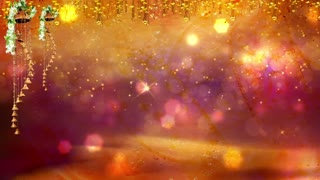 Abstract Bokeh Particle Background 05