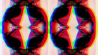 Abstract Colorful Sunglasses
