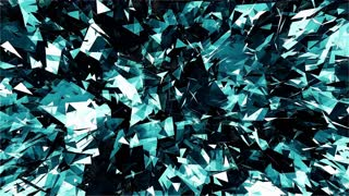 Abstract Glass shard Texture Background Loop