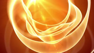 Abstract Orange Light