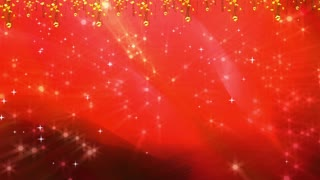 Abstract Red Stars Shining Background 01