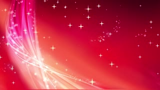 Abstract Red Stars Shining Background 05