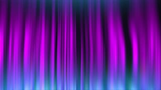 Abstract Visualization of Northern Lights Effect