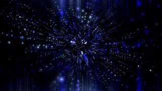 Abstract Vj Space Background 1