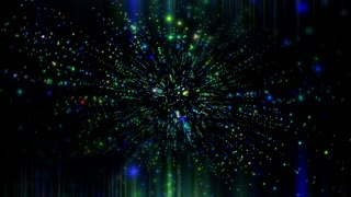 Abstract VJ Space Background 2