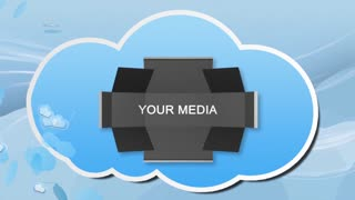AE CS4 Template: Cloudy Cartoon Presentation