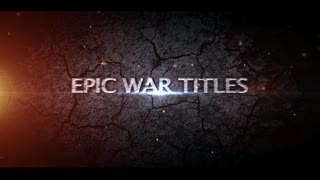 AE CS4 Template: Epic Title Plates
