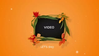 AE CS4 Template: Flower Frame Slideshow