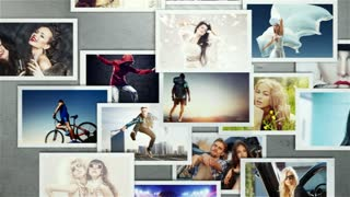 AE CS4 Template: Photowall
